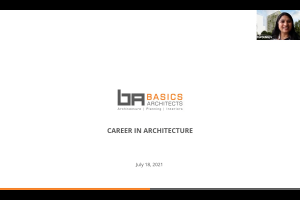 """Career Talk : Ranju Singhi talking about """"Pursuing career in Architecture"""" for the TPF forum"""